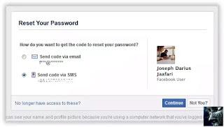 Metode Email Cara Memulihkan Password Facebook