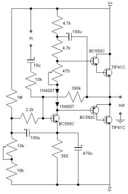 Audio Output Transformer Wiring