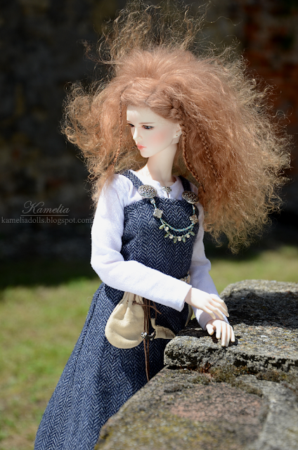 Viking outfit for doll