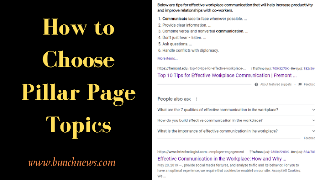 How to Choose Pillar Page Topics