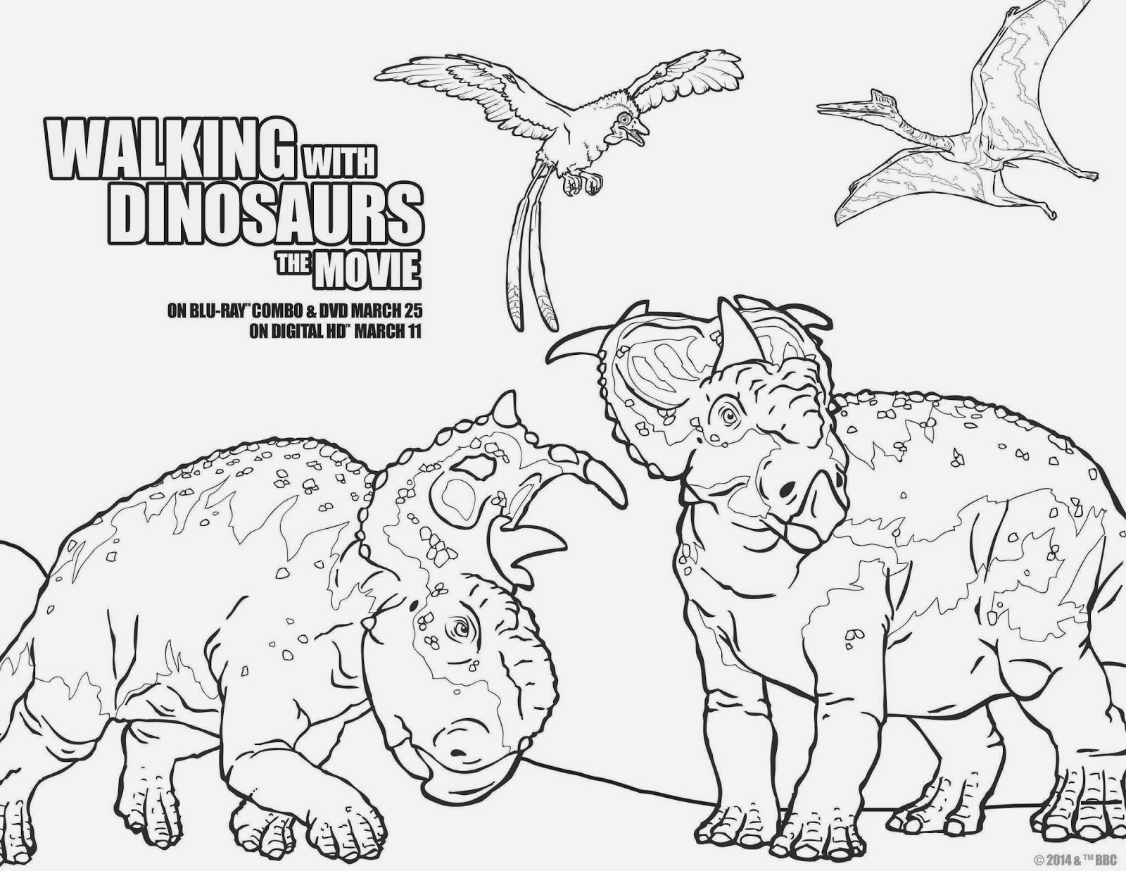 Walking With Dinosaurs Blu-ray & Free Activity Sheets