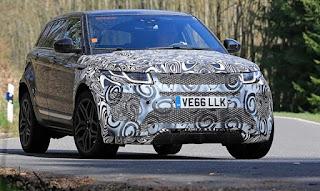 2018 Range Rover Evoque: Prix, Refonte, Moteurs