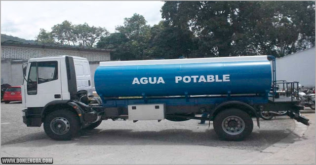 Cobran 60 dólares por una cisterna de agua sucia en Petare