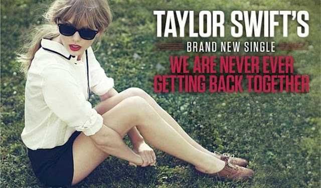 We Are Never Ever Getting Back Together Guitar Song - Taylor Swift | RED
