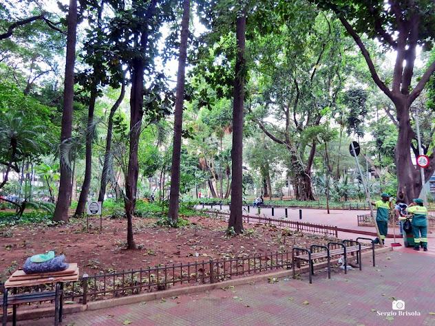 Vista de parte da Praça Dom José Gaspar - Consolação/Centro - São Paulo