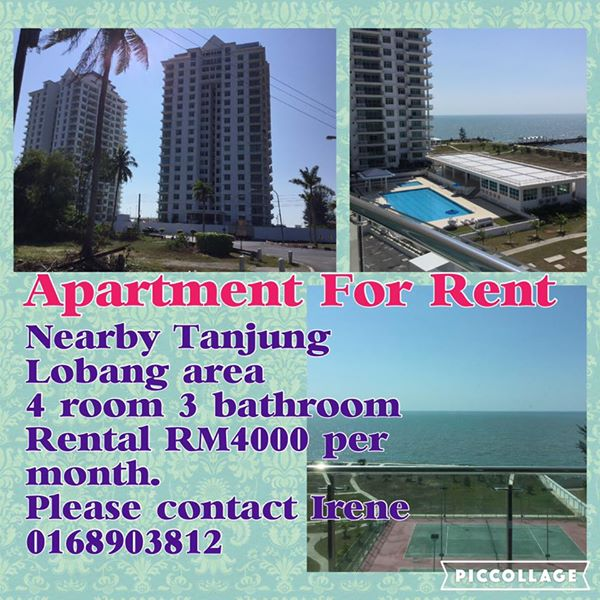 For Rent Nearby: Apartment For RENT Nearby Tanjung Lobang Miri