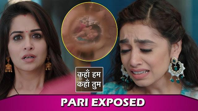 EXPOSED : Rohan Pari's affair news known to Sonakshi Veena in Kahaan Hum Kahaan Tum