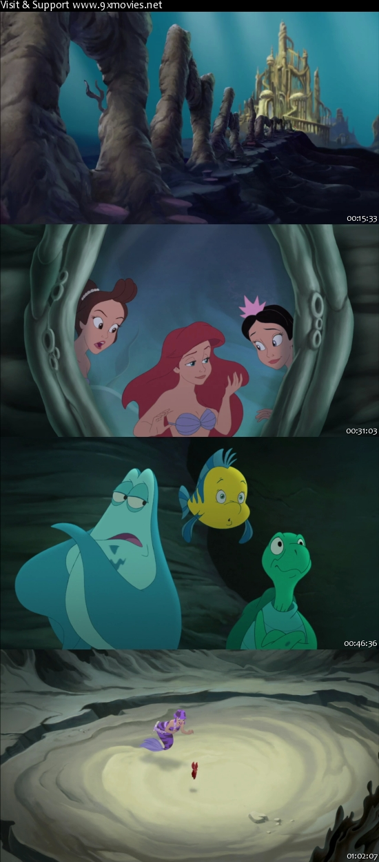 The Little Mermaid - Ariels Beginning 2008 Dual Audio Hindi 720p BluRay