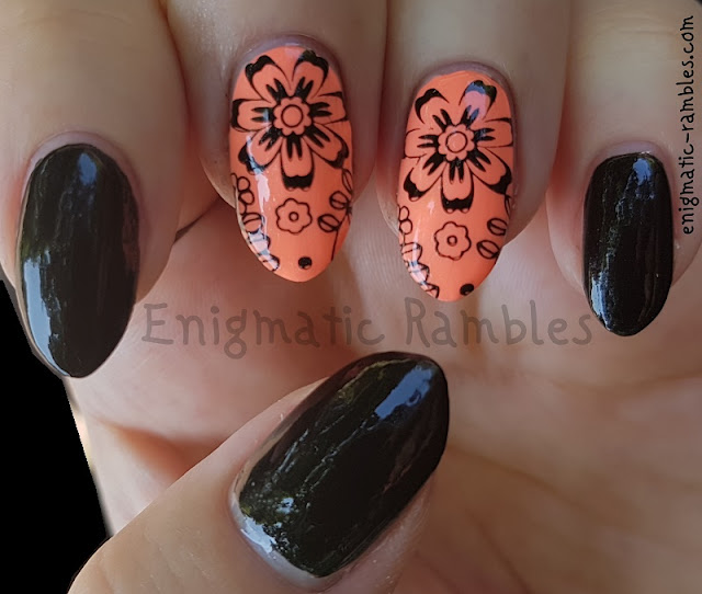 neon-floral-nails