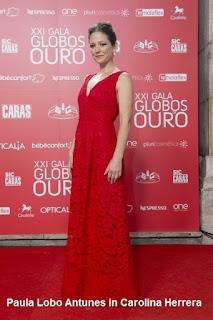 Paula%2BLobo%2BAntunes%2B %2BCarolina%2BHerrera - GLOBOS DE OURO - PORTUGAL 2016