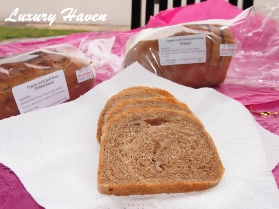budofjoy organic wholemeal walnut bread review