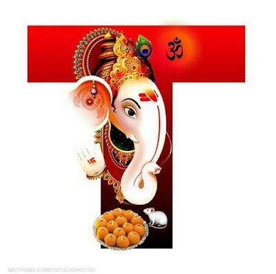 Ganesha-alphabet-T-images-download