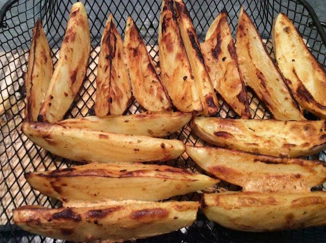Patatas fritas estilo ranchero - Horno Aigostar Master