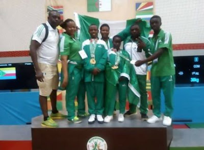 Team Nigeria win 105 medals in Africa Youth Games