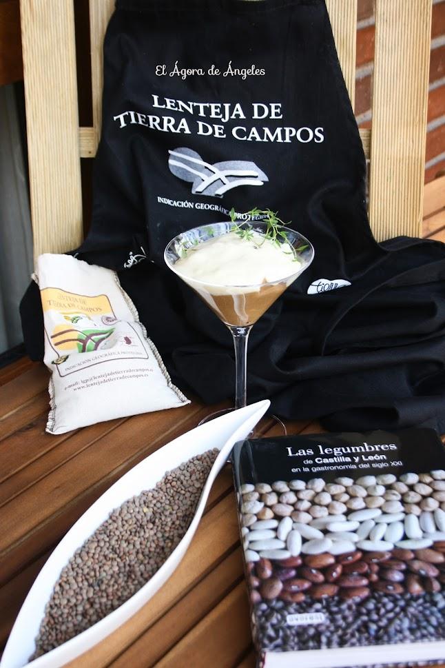 Capuccino De Lentejas De Tierra De Campos