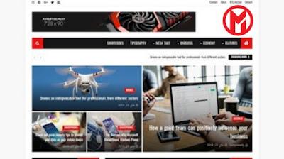 قالب Newsify يدعم RTL قالب متعدد الاستخدام من تيك فور
