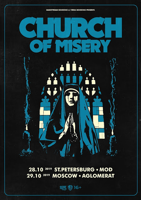 Church of Misery в России
