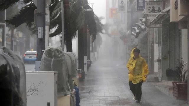 Forte Tufão Hagibis deve atingir o Japão no fim de semana