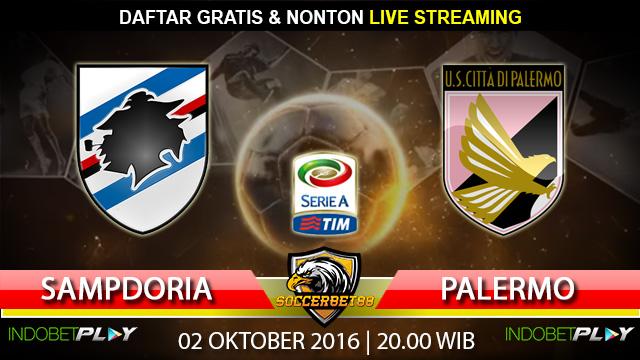 Prediksi Sampdoria vs Palermo 02 Oktober 2016 (Liga Italia)