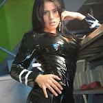 Andrea Rincon, Selena Spice Galeria 5 : Vestido De Latex Negro Foto 121