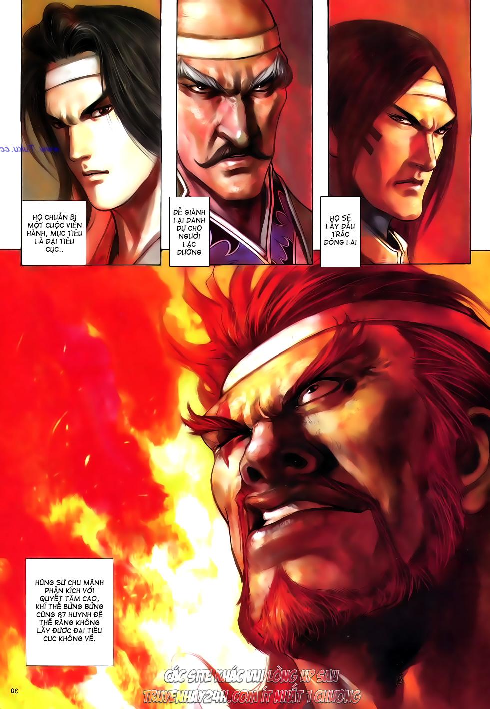Anh hùng vô lệ Chap 16: Kiếm túy sư cuồng bất lưu đấu  trang 31