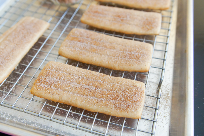 churro cookies | bake at 350