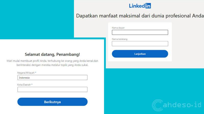 Cara Membuat Akun LinkedIn Gratis