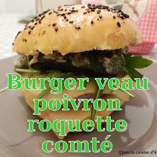 http://danslacuisinedhilary.blogspot.fr/2015/04/burger-de-veau-poivron-roquette-et.html