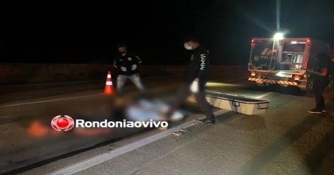 Jovem de 19 anos morre em acidente na BR-364 e motorista foge