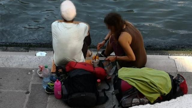 Bikin Kopi Di Tempat Sembarangan Pasangan Turis Didenda Hampir 20 Juta