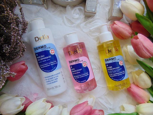 Nowości do demakijażu twarzy od Delia Cosmetics - Seria DERMO SYSTEM