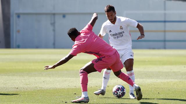 ريال مدريد يستعد لموقعة السيتي بمباراة ودية بين نجومه