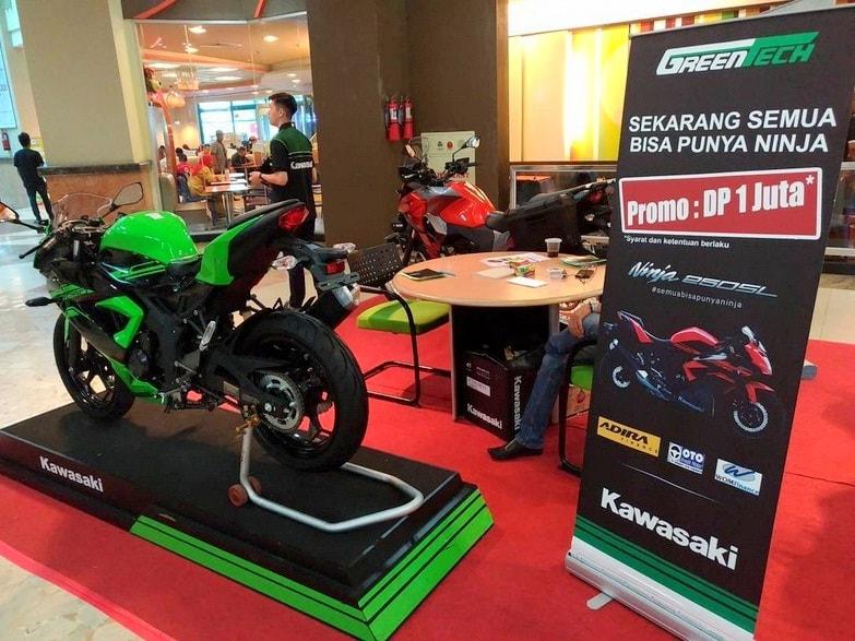 Ini dia skema kredit Kawasaki Ninja 250SL dengan DP 1 Juta, sikaat sob !