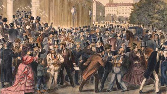 Viernes negro tras la caída de la bolsa de Viena