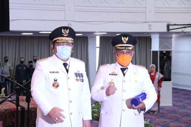 Gubernur Lampung Resmi Melantik Bupati Lampung Selatan
