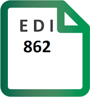 EDI 862 Shipping Schedule transaction set specification format