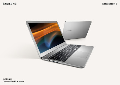 Samsung Notebook 3 and Notebook 5 launched