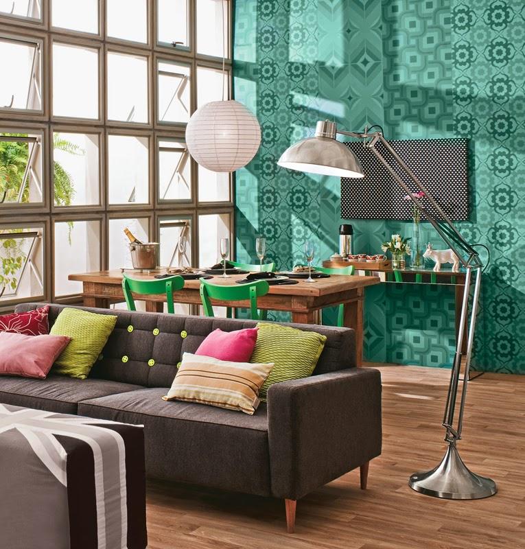 sala-decorada-com-papel-de-parede