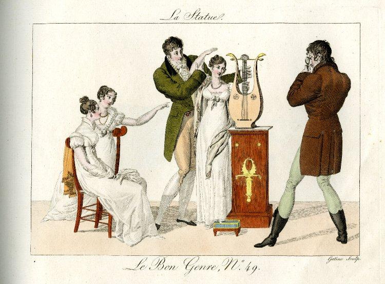 """Wenus z chusteczką do nosa, czyli """"O schludności"""" (1806)"""