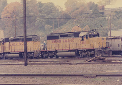 Union Pacific SD40-2 3401