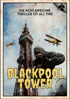 King Kong at the Blackpool Tower