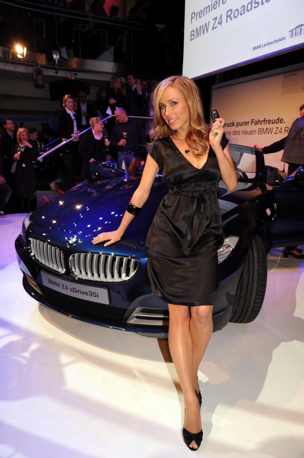 Annemarie Warnkross HQ Photos At BMW Presents New Z4