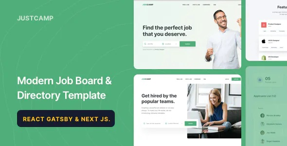 Best Job Board & Directory Template