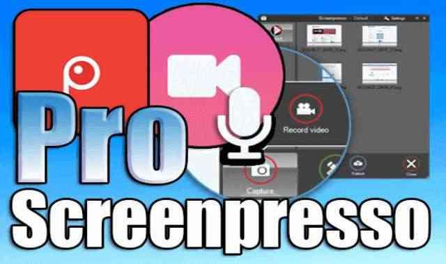 تحميل وتفعيل Screenpresso Pro برنامج تصوير سطح المكتب للاجهزة الضعيفة