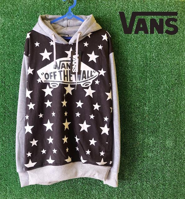 Sweater Distro Vans Black Stars 4174b54651