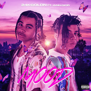 24kGoldn & iann dior - Mood Lyrics   New Pop Song
