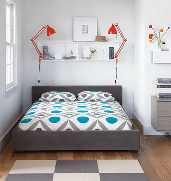 Home Tips: Solutions For Small Bedrooms 4
