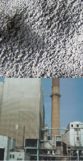 U.S. electric  industry produces million tons flyash annually