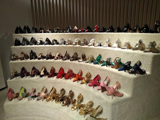 Sapatos de Hebe Camargo