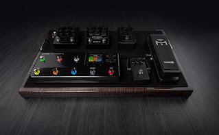 エフェクトシステムに組み込めるサイズ感も HX Stomp XL の魅力
